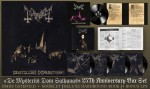 Mayhem - De Mysteriis Dom Sathanas 25th Anniversary Box Set
