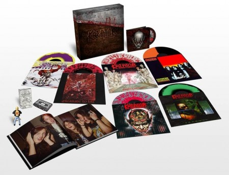 KREATOR - Under the Guillotine (box set)