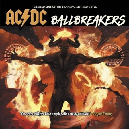 AC/DC - BALLBREAKERS  10-INCH NUMBERED DELUXE COLLECTOR'S EDITION