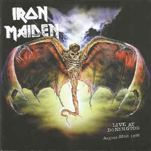 Iron Maiden ‎– Live At Donington (cd)