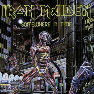 Iron Maiden ‎– Somewhere In Time (cd)