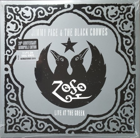 Jimmy Page & The Black Crowes ‎– Live At The Greek