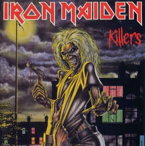 Iron Maiden ‎– Killers (cd)