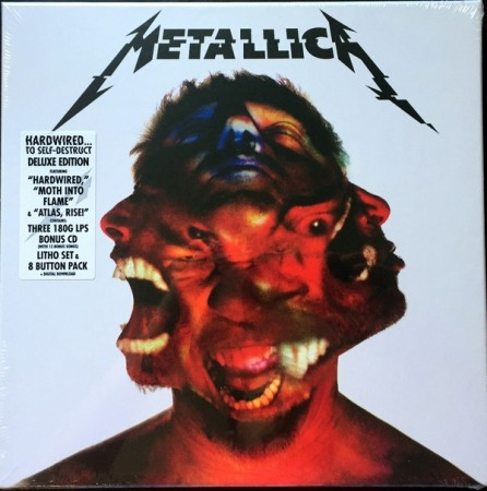 Metallica ‎– Hardwired...To Self-Destruct (box)