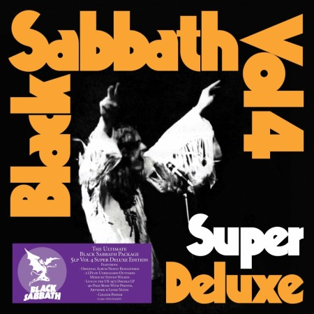 BLACK SABBATH VOL 4  Super Deluxe 5LP Box Set