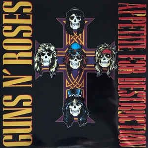 Guns N Roses ‎– Appetite For Destruction (ltd)