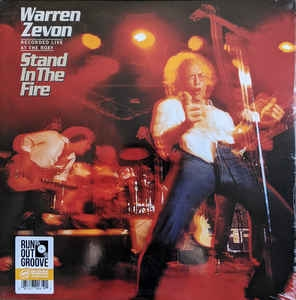 Warren Zevon ‎– Stand In The Fire – Recorded Live At The Roxy (2xlp)