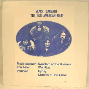 Black Sabbath ‎– The 1978 American Tour