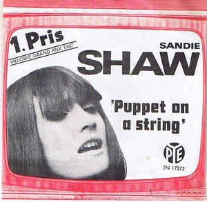 Sandie Shaw ‎– Puppet On A String