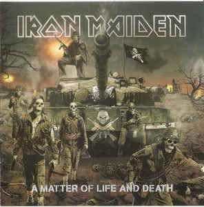 Iron Maiden ‎– A Matter Of Life And Death (cd)