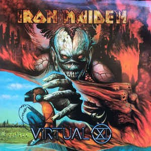 Iron Maiden ‎– Virtual XI (cd)