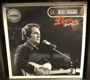 Merle Haggard ‎– Live From Austin TX ´78 (colored)