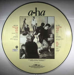 a-ha ‎– Hunting High And Low (picture disc)