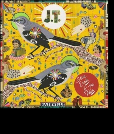 STEVE EARLE & THE DUKES- J.T. (ltd red lp)