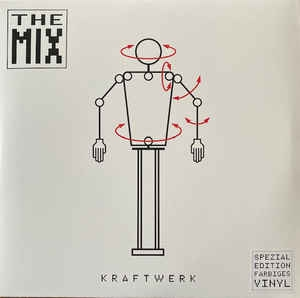 Kraftwerk ‎– The Mix (2xcolored vinyl)