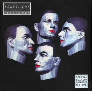 Kraftwerk ‎– Techno Pop (colored lp)