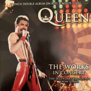 Queen ‎– The Works In Concert (double red/white vinyl)