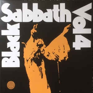 Black Sabbath ‎– Vol 4