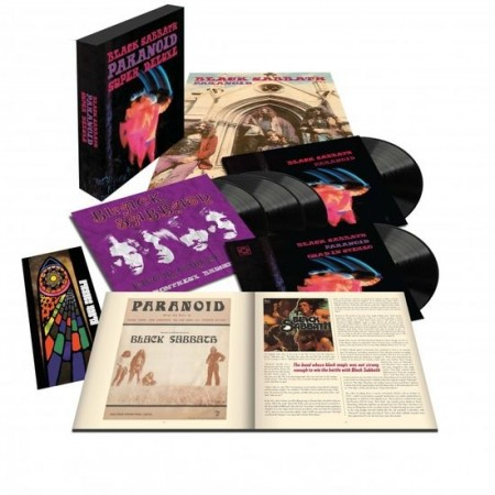 BLACK SABBATH paranoid 50th Anniversary Edition Deluxe Box Set