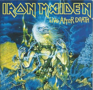 Iron Maiden ‎– Live After Death (cd)