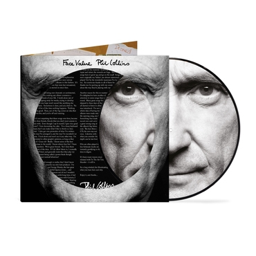 Phil Collins Face Value - 40th Anniversary Picture Disc