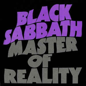 Black Sabbath ‎– Master Of Reality