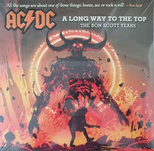 AC/DC ‎– A Long Way To The Top - The Bon Scott Years (Deluxe Edition)