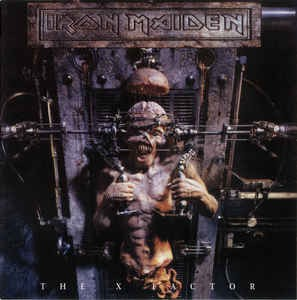 Iron Maiden ‎– The X Factor (cd)