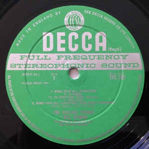Green Decca Label