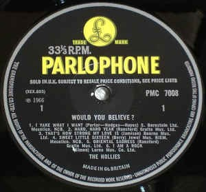 Parlophone (black-yellow)