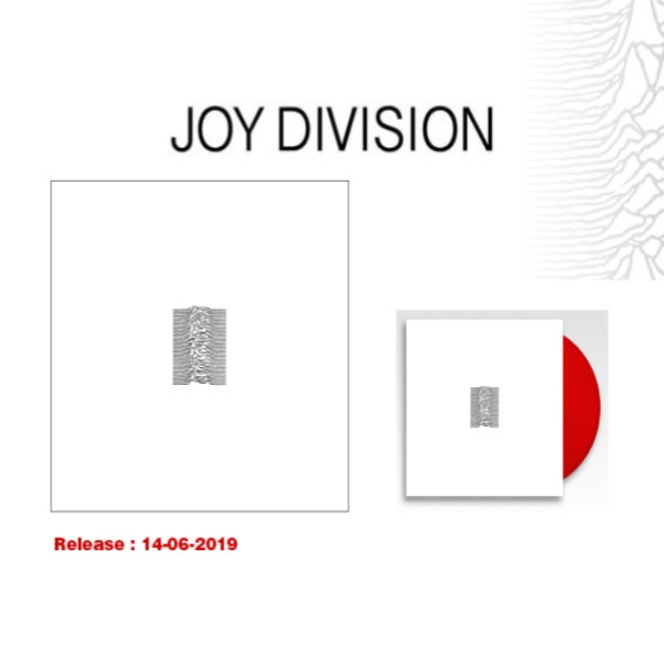 JOY DIVISION RED RUBY VINYL