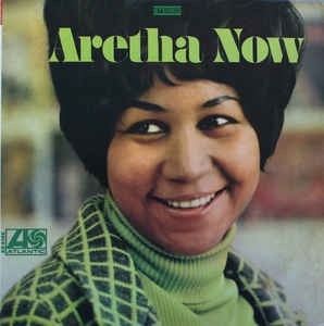 Aretha Franklin ‎– Aretha Now - Cover-LP is in EXELLENT SHAPE