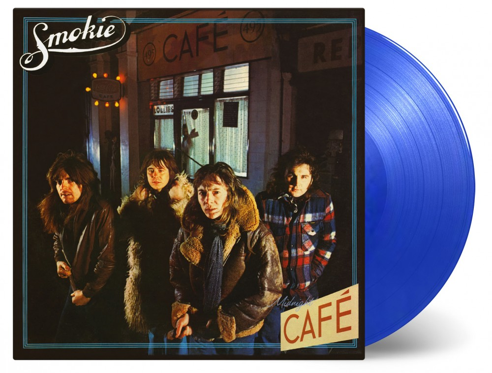 2*LP Midnight Café is available as a limited edition of 1500 individually numbered copies on transparent blue vinyl.