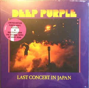 Ny lp. Re. Ltd. Purple vinyl.
